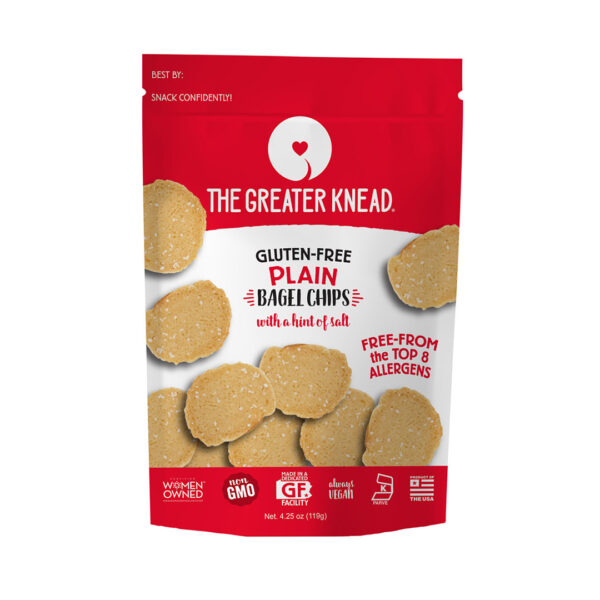 greater knead gluten free bagel chips