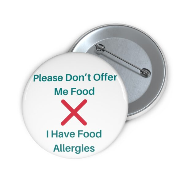 food allergy pin
